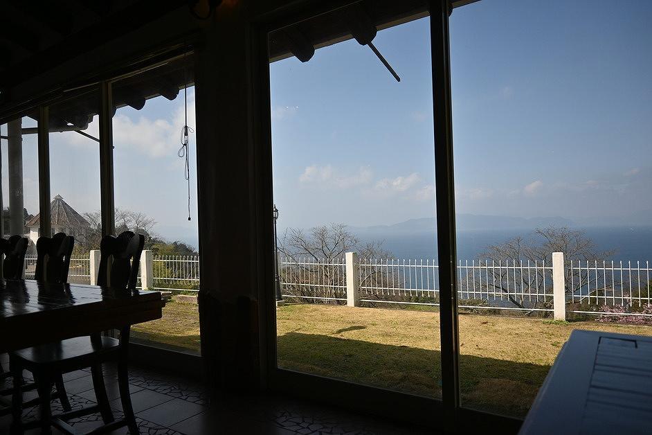 海の景色とパエリアが頂ける湯の児スペイン村福田農場さん!