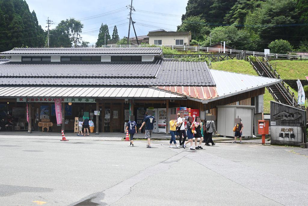 【山都町下市】7月21日修復完成!通潤橋