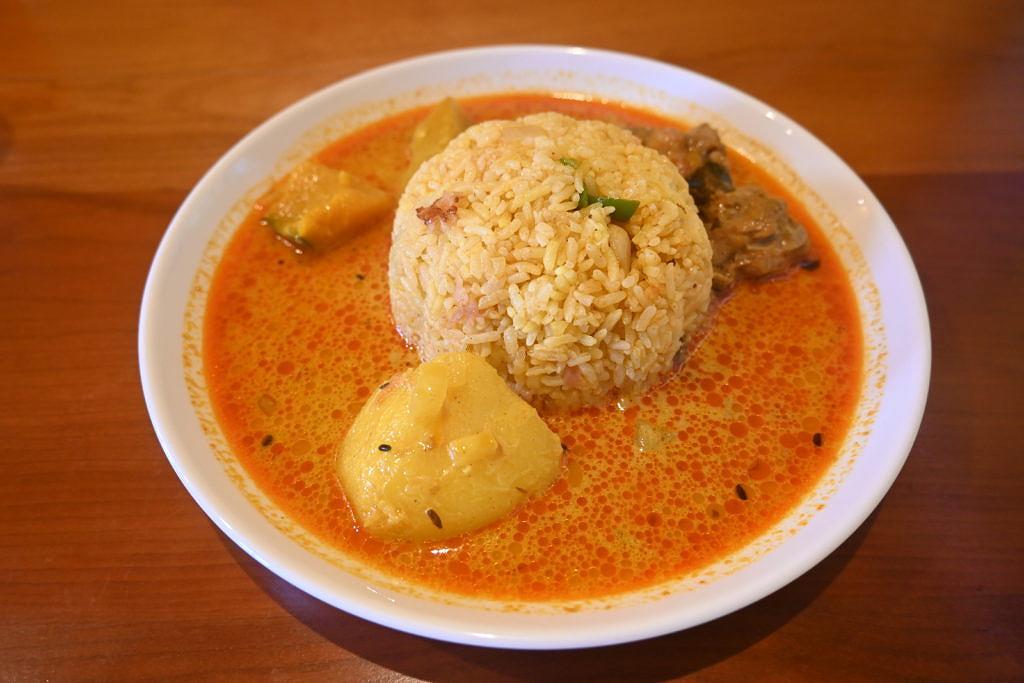 【天草市中央新町】辛いカレーのみ提供!スリランカカリー食堂「リトル・スパイス」さん